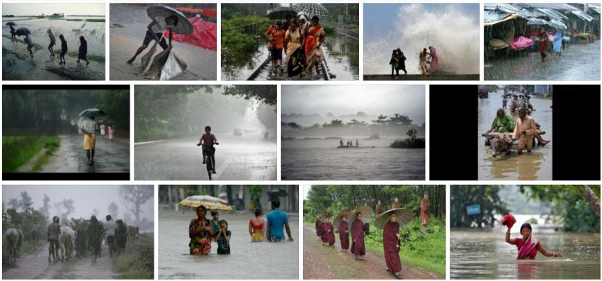 Human Picture of Monsoon Asia